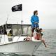 Pirátska vlajka 60 x 40 cm