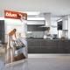 Reklamný panel Roller strieborný 120 cm