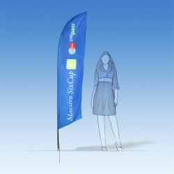 BeachFlag 2,6m WindTex