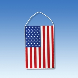 USA stolová zástavka