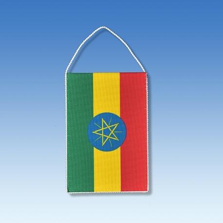 Etiopia stolová zástavka