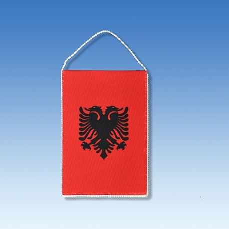Albánsko stolová zástavka