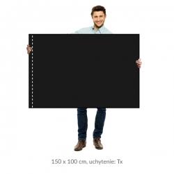 Smútočná vlajka 150x100 cm