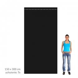 Smútočná zástava 150x300 cm