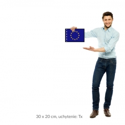 EÚ vlajka 30x20 cm