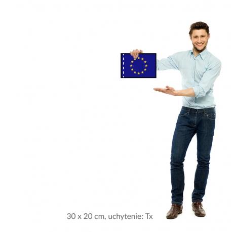 EU vlajka 30x20 cm