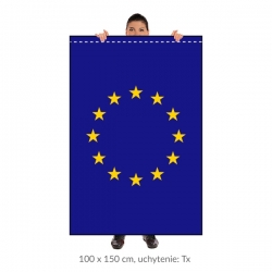 EÚ zástava 100x150 cm