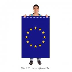 EÚ zástava 80x120 cm