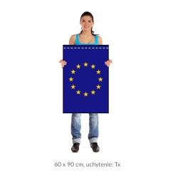 EÚ zástava 60x90 cm