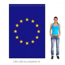 EÚ zástava 150x225 cm