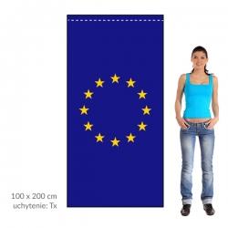 EÚ zástava 100x200 cm