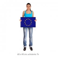 EÚ vlajka 60x40 cm orez