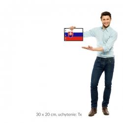 SR vlajka 30x20 cm