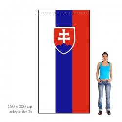 SR zástava 150x300 cm
