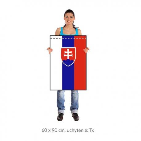 SR zástava 60x90 cm