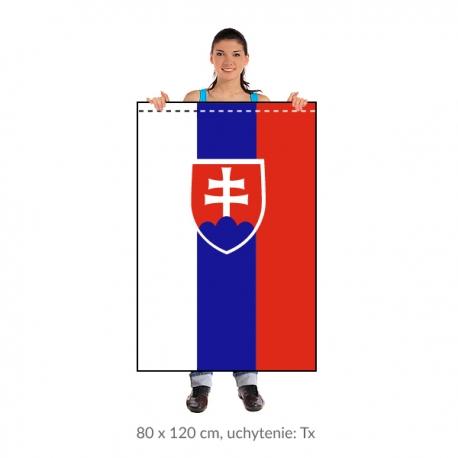 SR zástava 80x120 cm