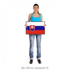 SR vlajka 60x40 cm orez