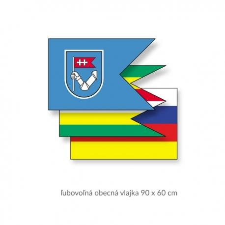 Obecná vlajka 90 x 60 cm