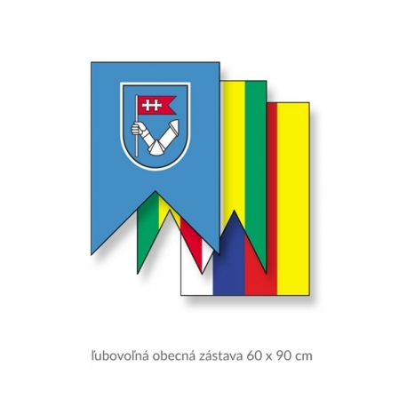 Obecná zástava 60 x 90 cm