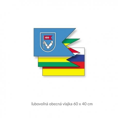Obecná vlajka 60 x 40 cm