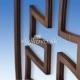 Znak SR drevený frézovaný mahagón