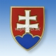 Znak SR drevený farbený