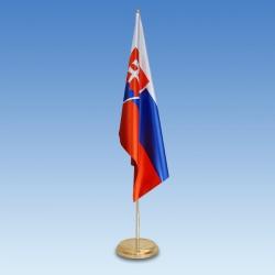 SR vlajka 150x100 cm satén