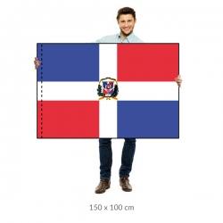 Dominikánska republika vlajka