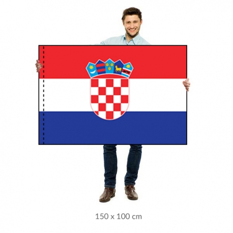 Chorvátsko vlajka