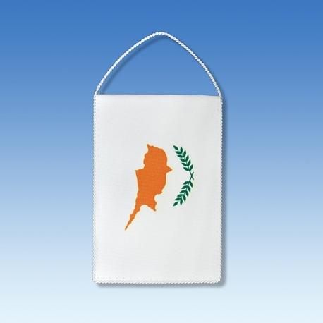 Cyprus stolová zástavka