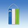 Uzbekistan stolová zástavka