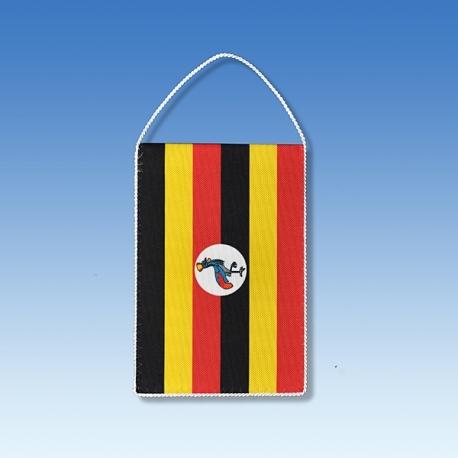 Uganda stolová zástavka