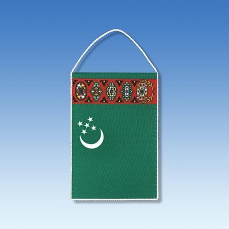 Turkmenistan stolová zástavka