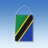 Tanzánia stolová zástavka
