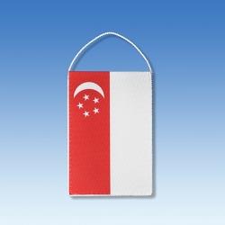Singapur stolová zástavka