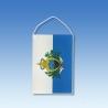 San Maríno stolová zástavka