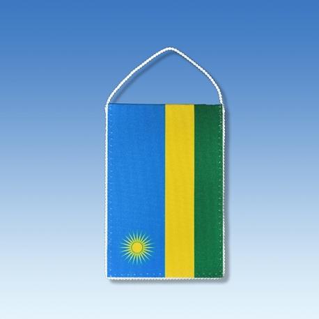 Rwanda stolová zástavka