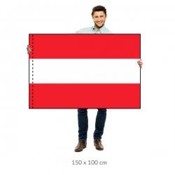 Rakúsko vlajka