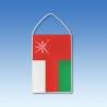 Omán stolová zástavka