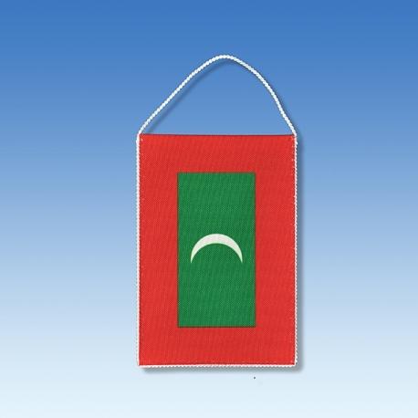 Maledivy stolová zástavka
