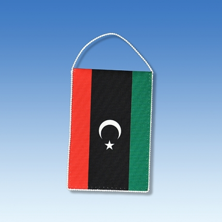 Líbya stolová zástavka