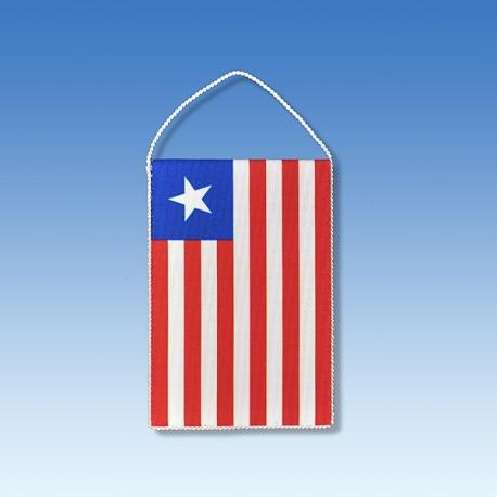Libéria stolová zástavka