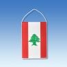 Libanon stolová zástavka