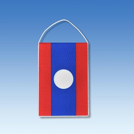 Laos stolová zástavka