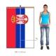 Srbsko vlajka