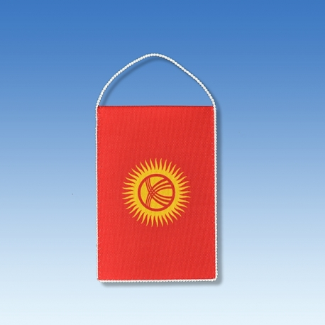 Kirgizsko stolová zástavka