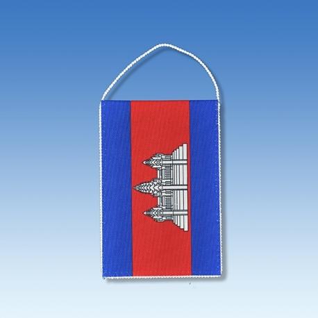 Kambodža stolová zástavka