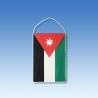Jordánsko stolová zástavka
