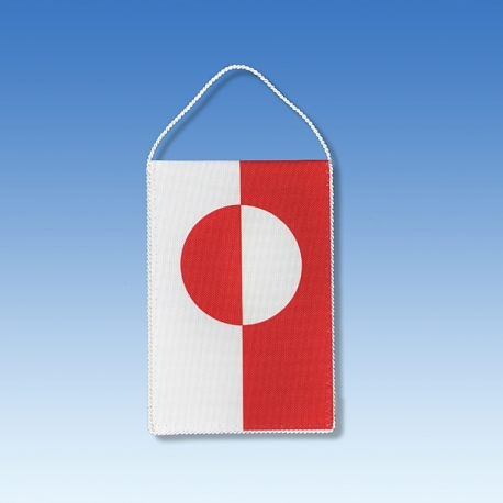 Grónsko stolová zástavka
