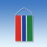 Gambia stolová zástavka